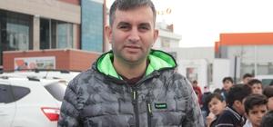 Türkiye Sirki'nin gösterisini izlemek için buluştular