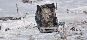 Kars'ta, trafik kazası: 3 yaralı