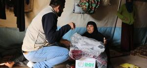 Iraklı Türkmen ailelere gıda ve battaniye yardımı