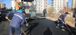 Göztepe Mahallesinde 6 sokakta sıcak asfalt çalışması yapıldı