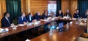 SERKA Yönetim Kurulu Toplantısı, Sarıkamış Kütük Ev'de yapıldı