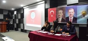 Başkan Yağcı, AK Parti Merkez İlçe Danışma Toplantısı'na katıldı
