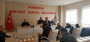 Pazaryeri Belediye Meclis toplantısı
