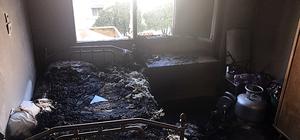 Hatay'da ev yangını: 1 ölü