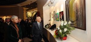 Yaşar, 'art'ALAN' sergisini gezdi