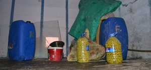 Hatay'da depodan 1,5 ton zeytin yağı çalındı