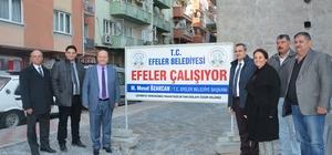 Başkan Özakcan yol çalışmalarını yerinde inceledi