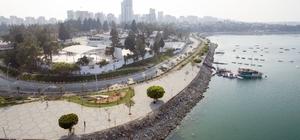 Adnan Menderes Sahil Yolu'nda 3. etap çalışmaları başladı
