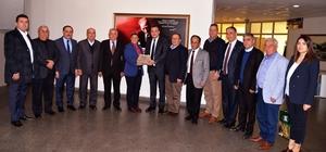 ydın Ticaret Borsası'ndan Başkan Çerçioğlu'na ziyaret