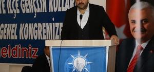 Aziziye Belediye Başkanı Muhammed Cevdet Orhan, AK Parti Aziziye Gençlik Kolları Kongresi'ne katıldı