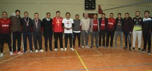 Malazgirt'te voleybol turnuvası