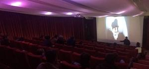 Uşak Üniversitesi'nde kısa film gösterimi yapıldı
