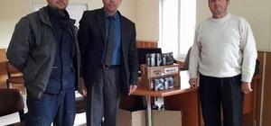 Ziraat Odası'dan Şaphane Avcı Kulübü'ne 'fişek' desteği