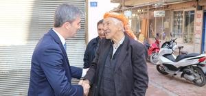 Başkan Şirin esnaflarla bir araya geldi