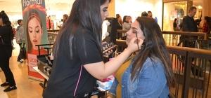 Kahramanmaraşlı kadınlar makyajın inceliklerini öğrendi