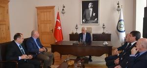 ?stanbul ve Aydın Birlik Başkanlarından Gürün'e Ziyaret
