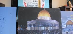Edirne'de 'Kudüs' sergisi açıldı