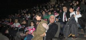 Öğrenciler ilk kez sinemayla buluştu
