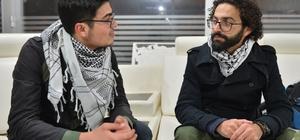 Filistinli yönetmen Ebu Salih: