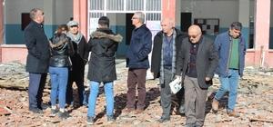 ırşehir'in ilk lisesi yıkılıyor