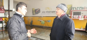 Başkan Başsoy'dan Esnafa Ziyaret