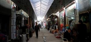 Cizre'de tarihi çarşı yeni bir görünüm kazandı