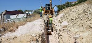 Kırkağaç'ın 5 mahallesinde altyapı çalışması