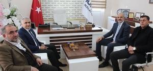 İl Emniyet Müdürü Ömer Urhal'dan MÜSİAD'a  ziyaret