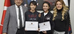 GKV'li Rana ve Endam'a resim yarışmasında dünya jüri özel ödülü