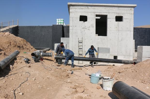 Büyükşehir'in su yatırımları kız kesmiyor