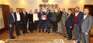 Başkan Karabacak, Erzurumluları ağırladı