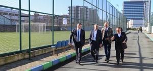 Tolunay Kafkas'tan Çaykur Rizespor'a ziyaret
