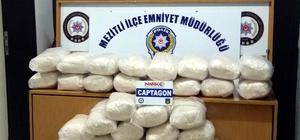 Mersin'de 1 milyon 554 bin uyuşturucu hap ele geçirildi