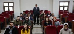 Başkan Toçoğlu öğrencilerle bir araya geldi