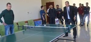 Oğuzeli MYO' da Masa Tenisi Turnuvası