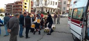 Akçakoca'da trafik kazası: 1 yaralı
