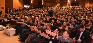 Kahta'da 'Mazeret yok' konulu konferans verildi