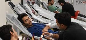 KYK'dan şehitler anısına kan bağışı kampanyası