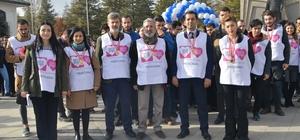 Konya'da, 'Kalbim tekrar sevecek' yürüyüşü