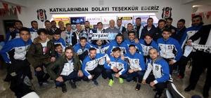 Başkan Özaltun, Beşiktaşlı taraftarlarla buluştu