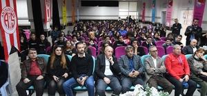 Antalyaspor'lu basketbolcular öğrencilerle