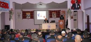 Elazığ'da hükümlülere aile içi iletişim semineri verildi