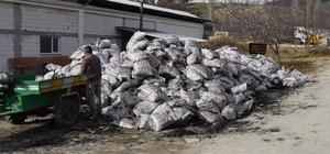 Pazarlar'da 217 aileye kömür yardımı
