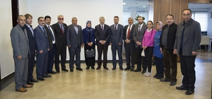 Başkan Çelik, AK Parti İncesu ve Sarız heyetiyle görüştü