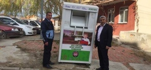 Hisarcık Belediyesi'nden 'Atık Giysileri Toplama' projesi