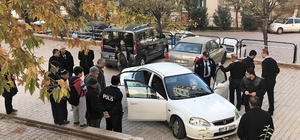Gaziantep'te şüpheli polis kovalamacası