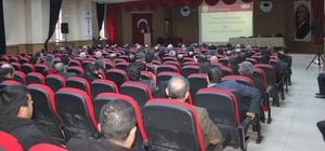 İpekyolu'nda 'Eğitim Değerlendirme' toplantısı