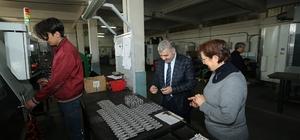 Başkan Çelik üreticileri ziyaret ediyor