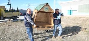 Odunpazarı Belediyesi sokak hayvanlarını unutmadı