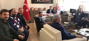 Ayvalık AK Parti'den Başsavcı Tokel'e nezaket ziyareti